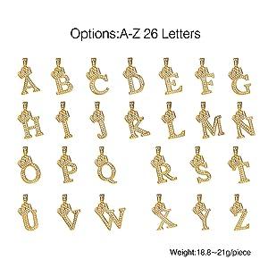 initials options