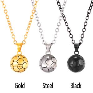 Mini Soccer Necklace