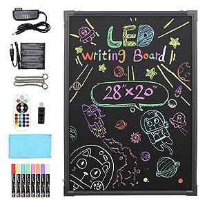 "Hosim LED Message Writing Board, 28"" x 20"