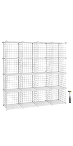 Wire Storage Cubes
