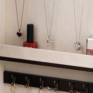 Amazon Com Songmics Large Jewelry Armoire Cabinet