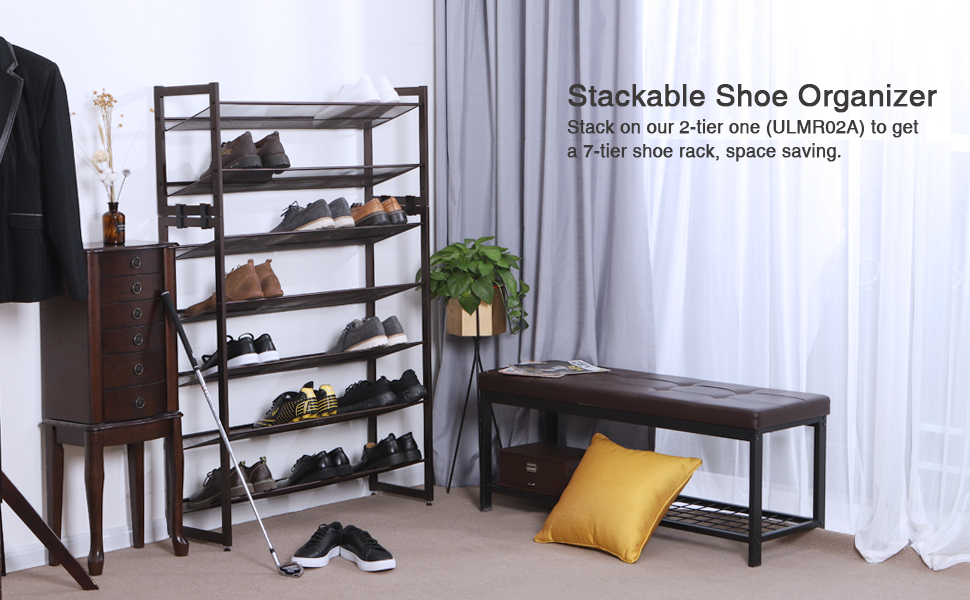 What Does The SONGMICS Metal Shoe Rack Offer?