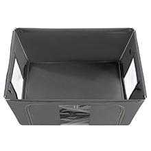 Amazon.com: SONGMICS - Cajas de almacenamiento XL con tapa ...