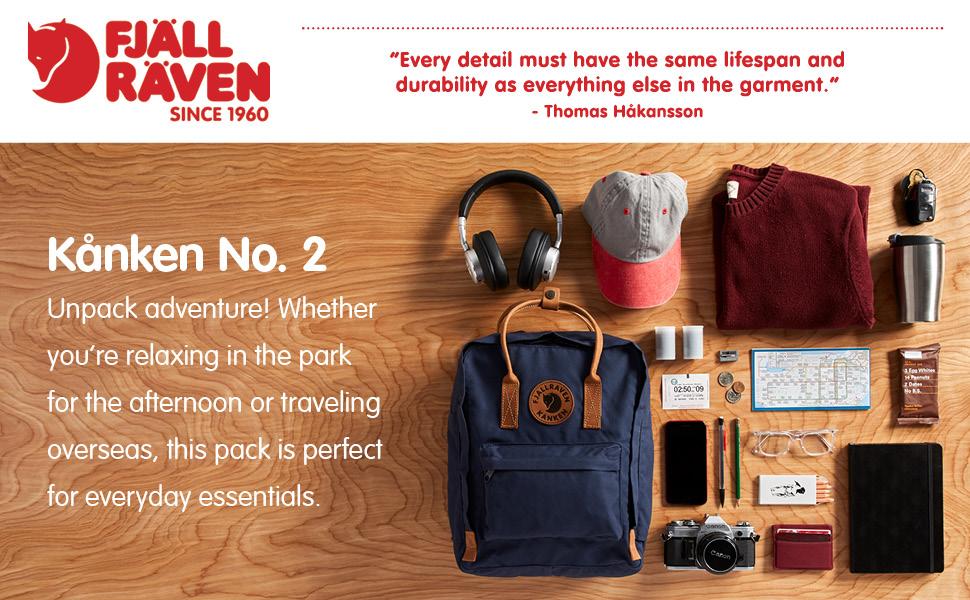 efcd6bbe0ed8 Fjallraven - Kanken No. 2 Backpack for Everyday