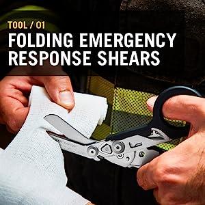 Tool/ 01 Folding emergency response shears