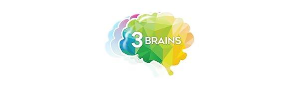 3 Brains Logo