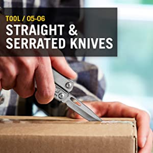 Tool/ 05-06 	Straight and serrated knives