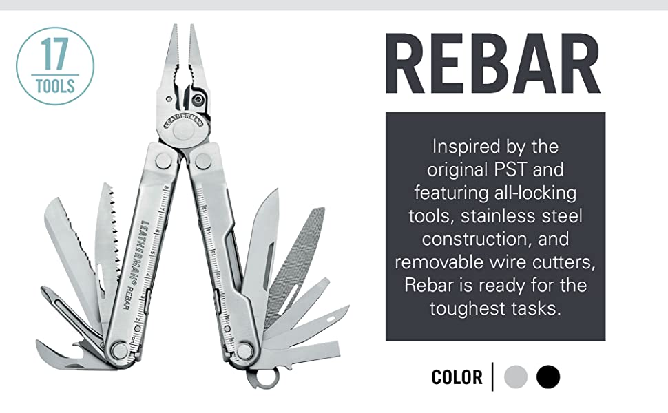 Inspired by the original PST and featuring all-locking tools & stainless steel construction