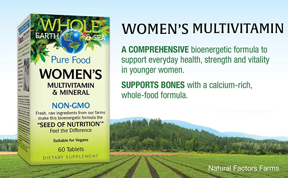 Women's Multivitamin, A comprehensive bioenergetic formula to support everyday health