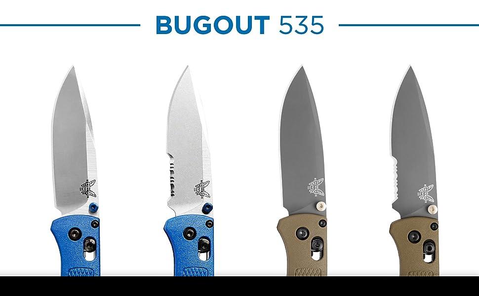 Benchmade  Bugout 535 EDC Manual Open