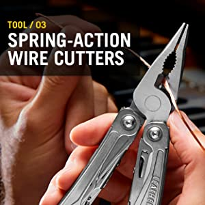 Tool/ 03 Spring-action wire cutters