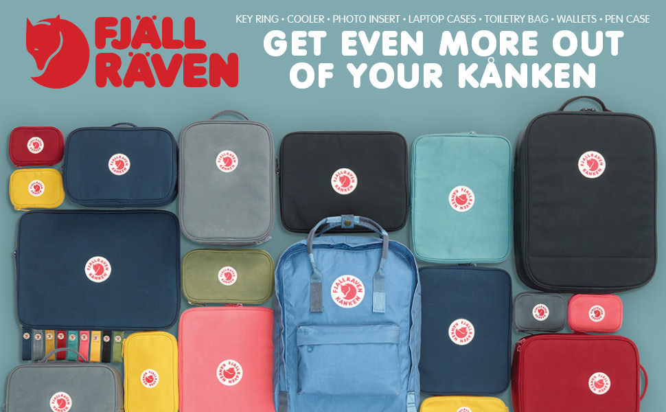 Kanken Toiletry Bag for Home and Travel
