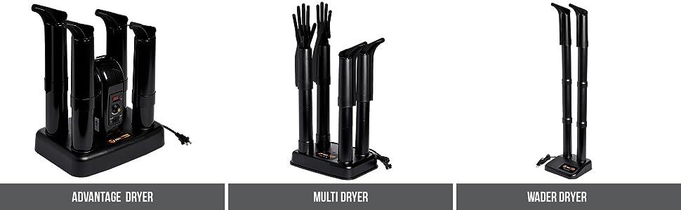 Advantage Dryer, Multi Dryer, Wader Dryer