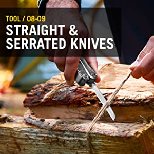 Tool/ 08-09 Straight and serrated knives