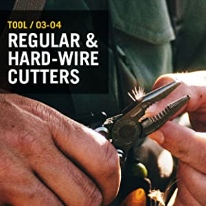 Tool/ 03-04 Regular and hard-wire cutters