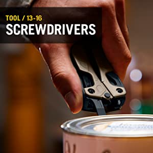 Tool/ 13-16 	Screwdrivers
