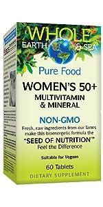 Women's 50+ Multivitamin amp; Mineral