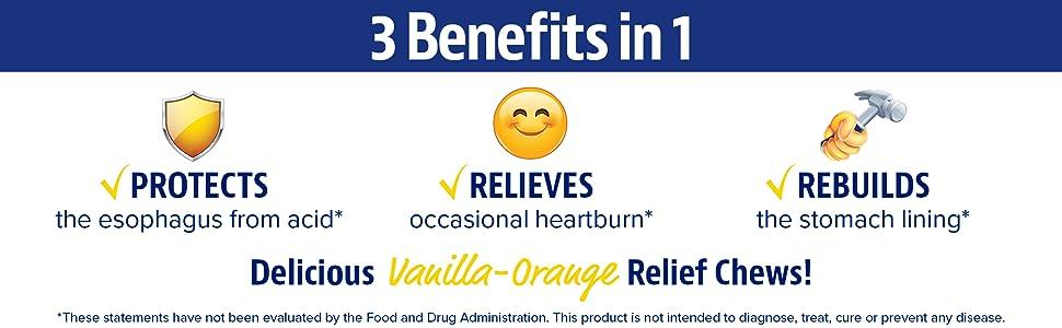 Amazon.com: Enzymedica - Alivio de ardores de corazón, 1 ...
