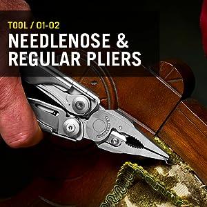 Tool/ 01-02 Needlenose and regular pliers