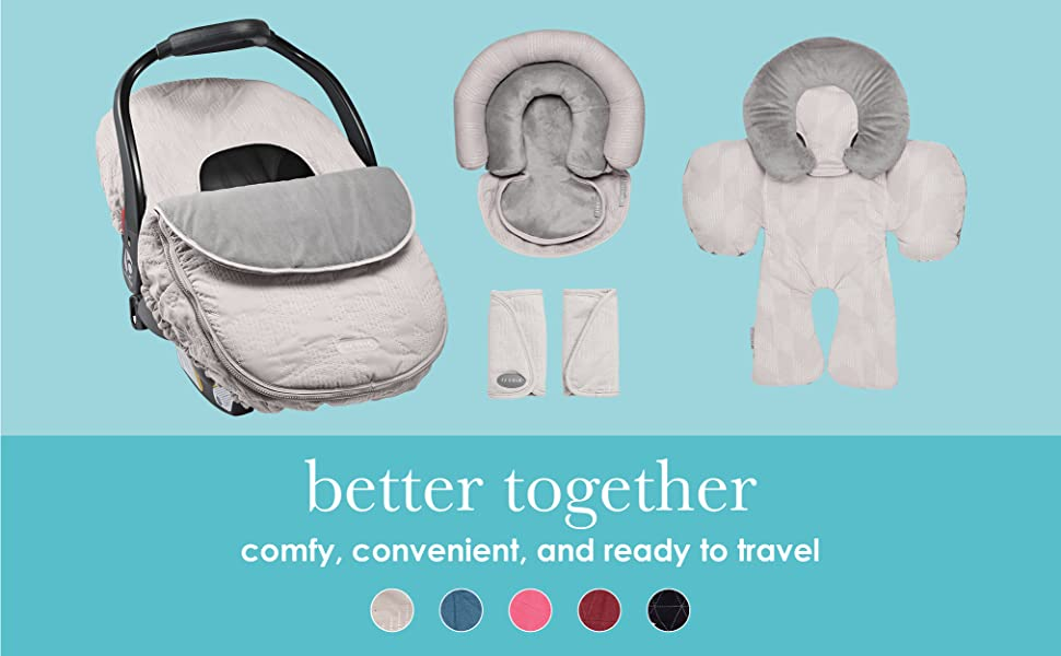 better together. comfy, convenient, and ready to travel.