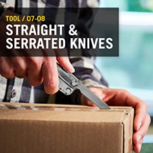 Tool/ 07-08 Straight and serrated knives