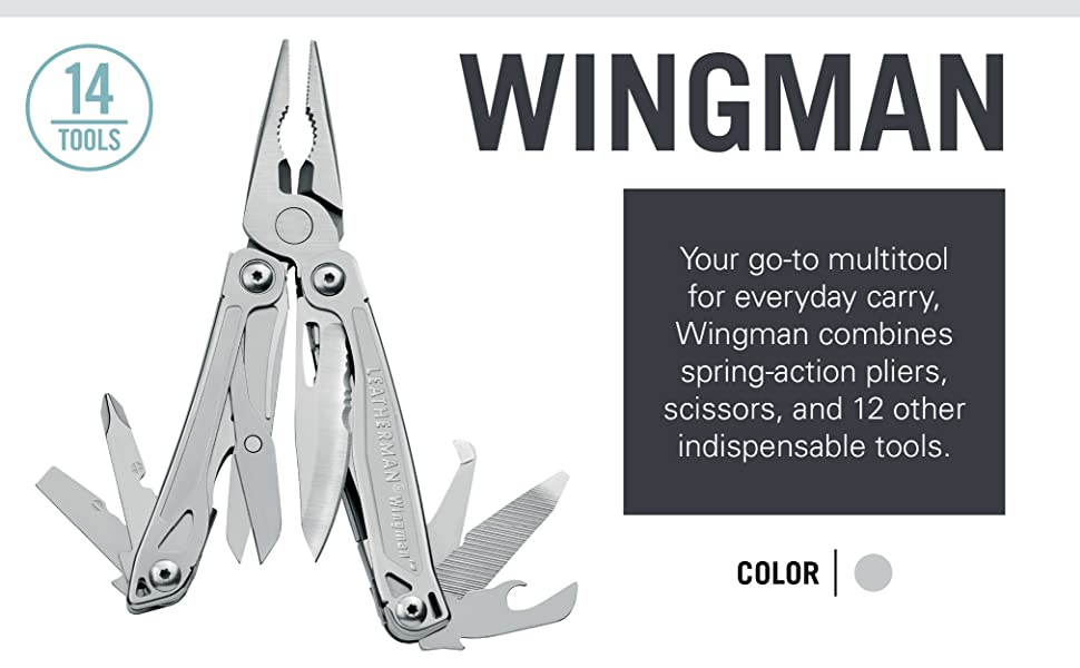 Your go-to multitool for everyday carry