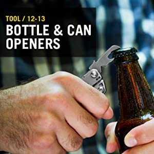 Tool/ 12-13 Bottle and can openers