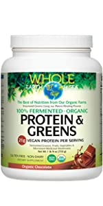 Fermented Organic Protein amp; Greens