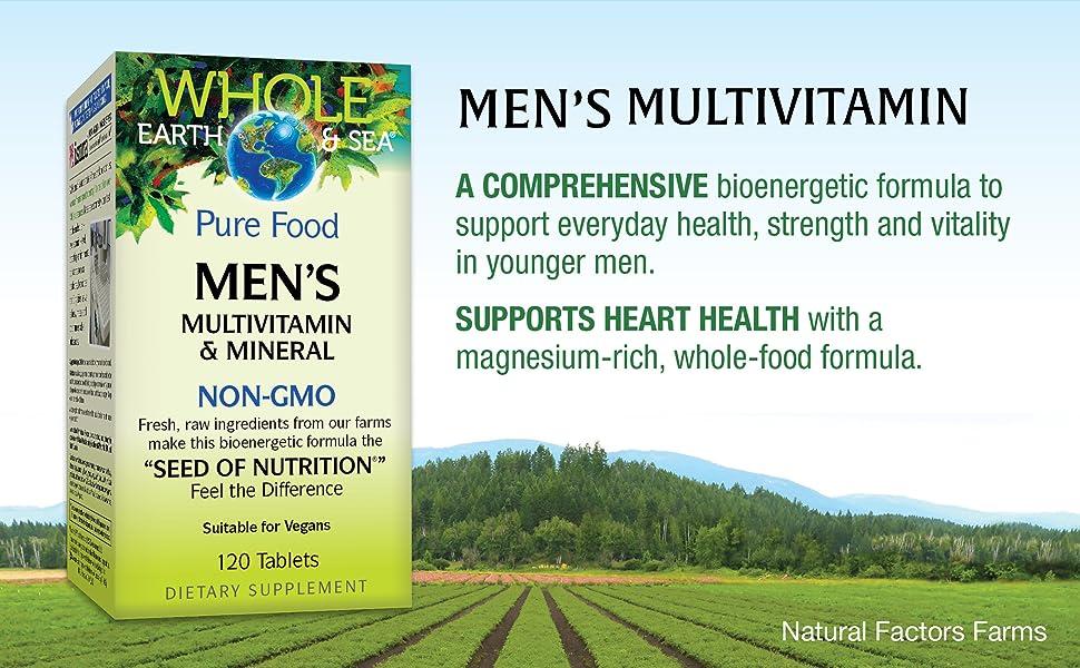 Men's Multivitamin, a comprehensive bioenergetic formula to support everyday health