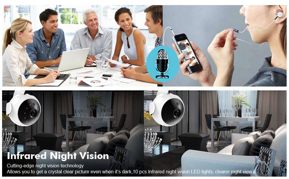 Amazon com : HC-RET 720P Wireless Wifi IP Security Camera