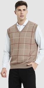 ... plaid sleeveless vest · cardigan vest with buttons · cable knit  cardigan vest · Kallspin Men s ... 63041346c