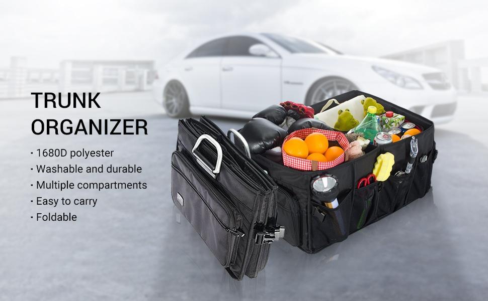 Amazon miu color foldable cargo trunk organizer big capacity miu color trunk organizer solutioingenieria Choice Image
