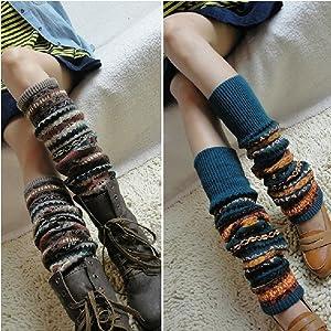 Luckystaryuan /® Black Friday Deal Set of 3 Children Leg Warmer Winter thicken boy style