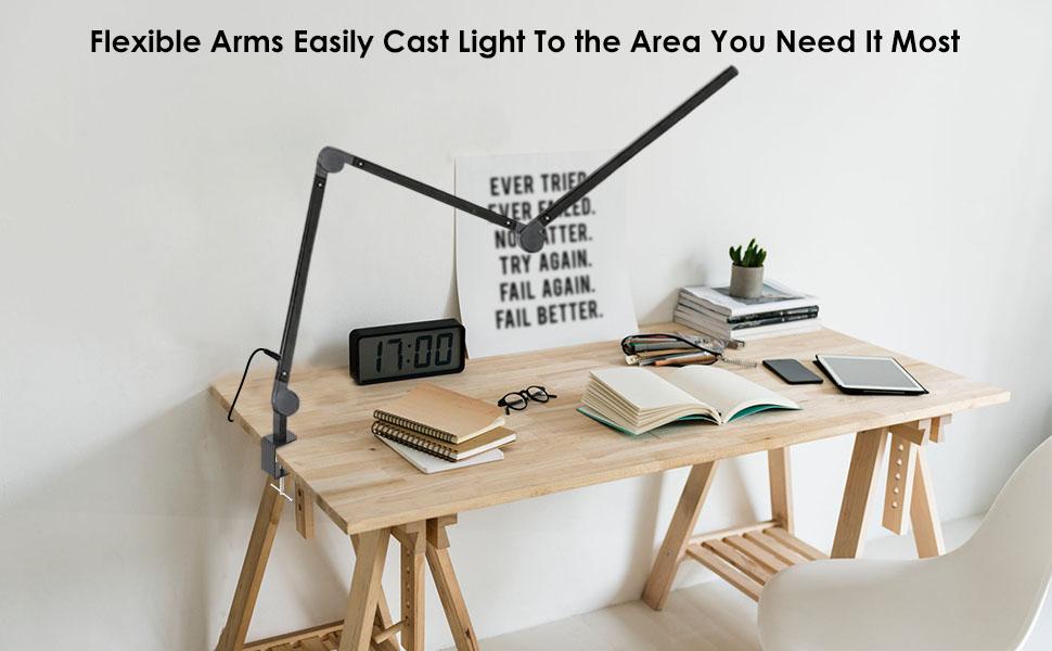 Joly joy swing arm desk lamp