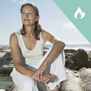 lessen remove take away hot flashes flash heat menopause symptoms menopausia woman beach white