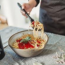 Amazon.com: Juego de utensilios de cocina – Soporte de ...