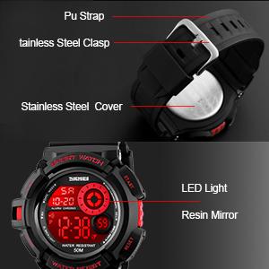 Amazon.com: Reloj digital para niño, diseño de camuflaje ...