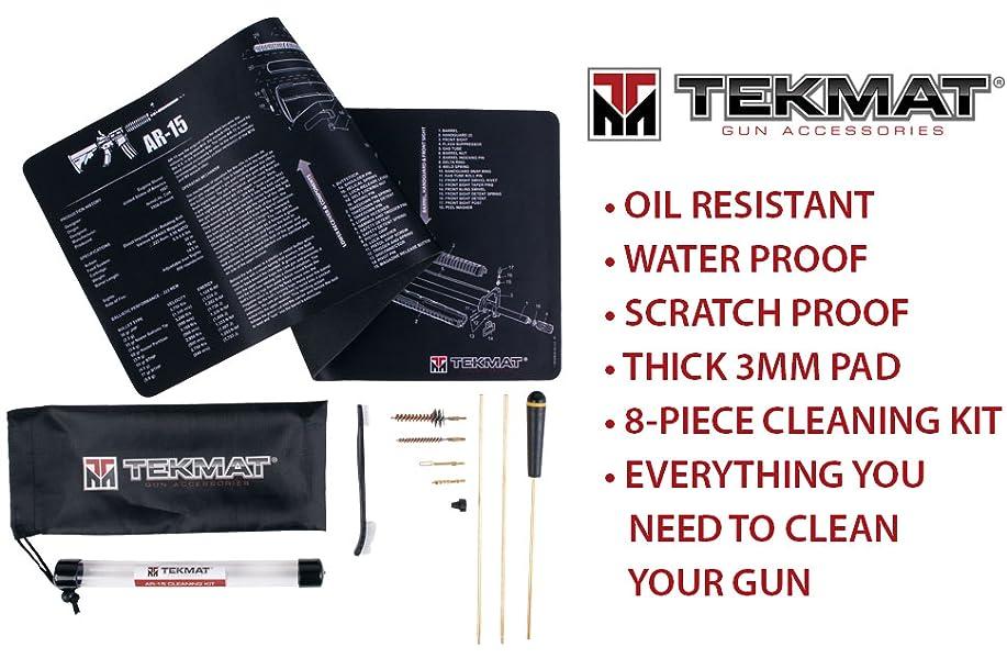 Amazon Tekmat Ar15 Cleaning Mat Black Mat Cleaning Kit