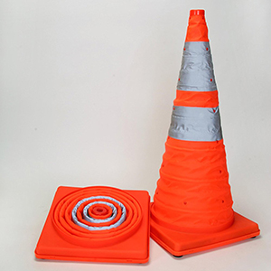 COLLAPSIBLE STORES FLAT Sports safety cones