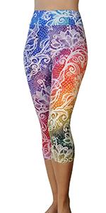 YW Capri Rainbow Lace