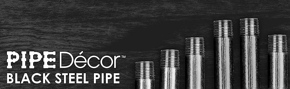BlackPipe, PLUMBING, PIPE, DECOR, GAS, AIR, WATER, LP, PIPE, steel