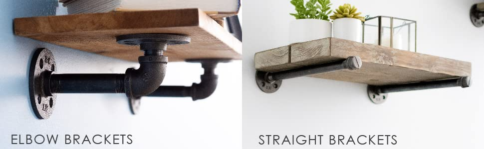 Elbow and Straight Brackets