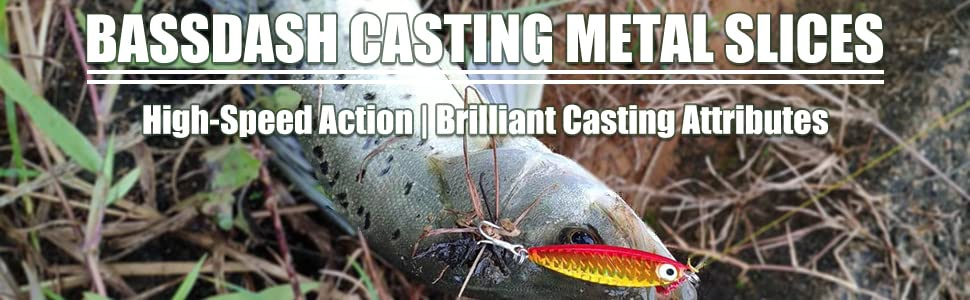 Bassdash casting metal jerkbaits