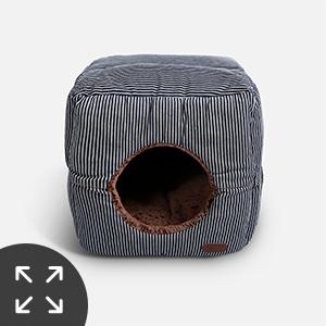 Amazon.com: Smiling Paws mascotas único 2 en 1 cama para ...