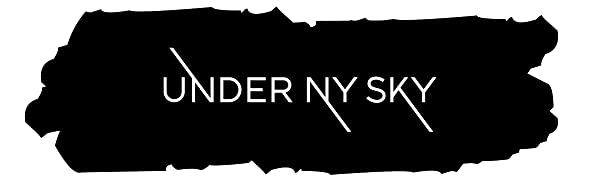 Under Ny Sky Aprons Logo: durable professional workwear for barbers, chefs, artists and servers