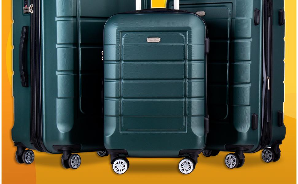 SHOWKOO Luggage Sets