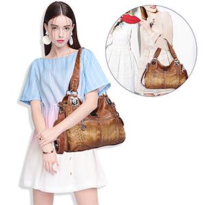 Womens Leather Handbag Shoulder Bag
