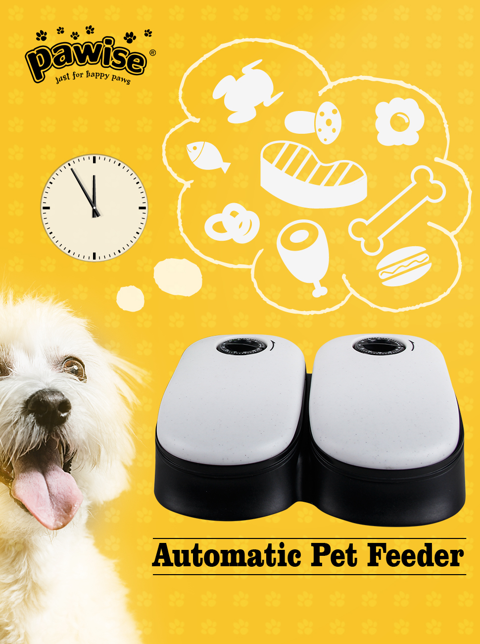 Dishes, Feeders & Fountains Cat Mate Automatic 2 Meal Timed Pet Feeder Food Dispenser Bowl Cats Dogs New Wide Varieties Pet Supplies