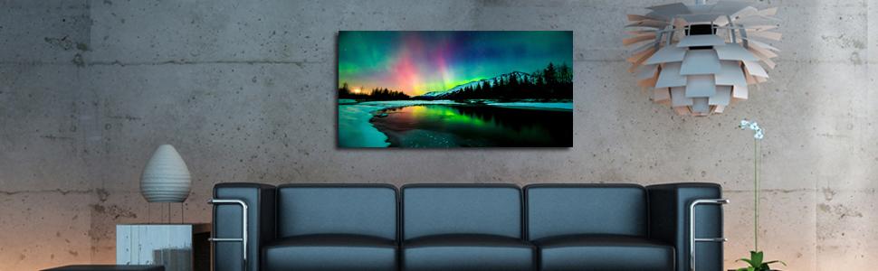 Northern Lights wall art
