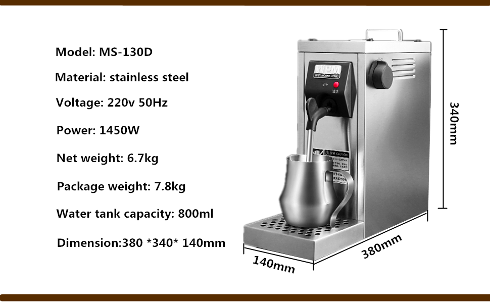 Amazon.com: Profesional Auto, café espumador leche ...